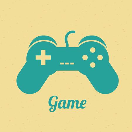 game graphic design , vector illustration Vector