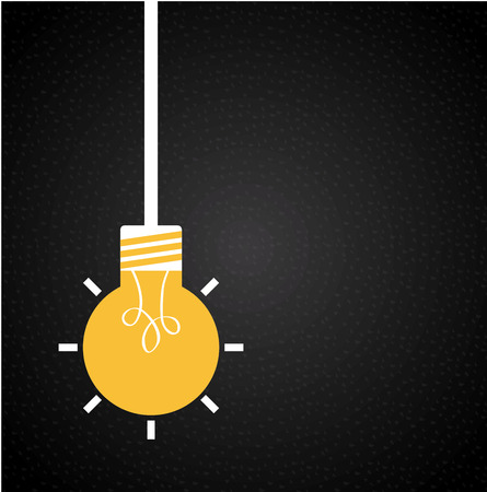 bulb graphic design , vector illustration