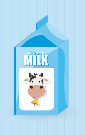 cow bells: dise�o gr�fico leche, ilustraci�n vectorial