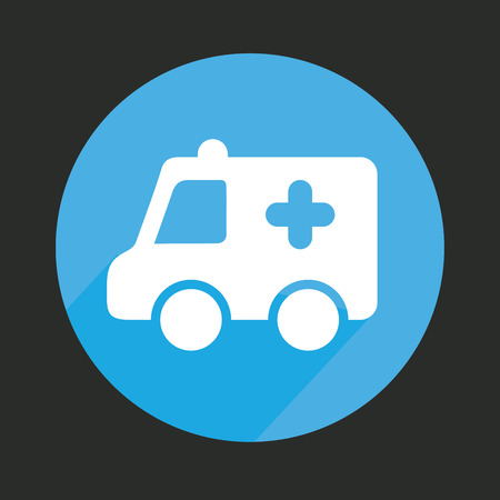 emergency cart: medical graphic design , vector illustration Illustration
