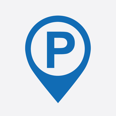 sign: parking graphic design , vector illustration