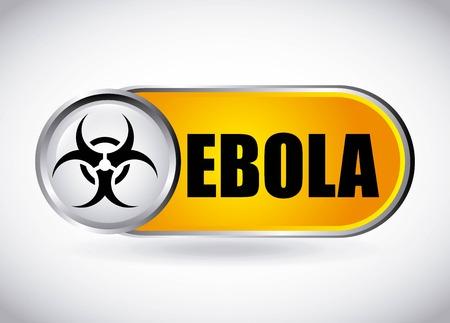 ebola grafisch ontwerp, vector illustratie