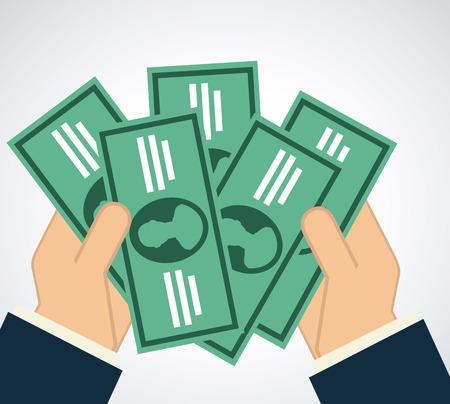 save money graphic design , vector illustration