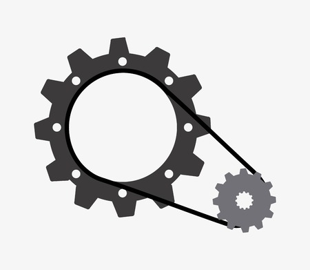 alloy wheel: gears graphic design , vector illustration
