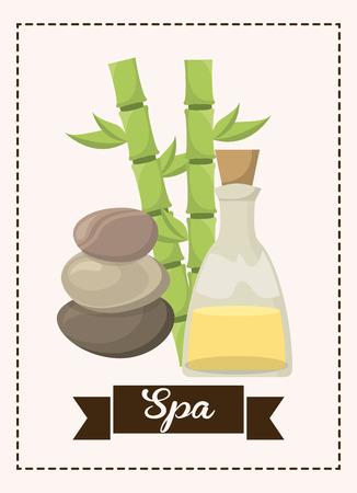 spa graphic design , vector illustration Vector
