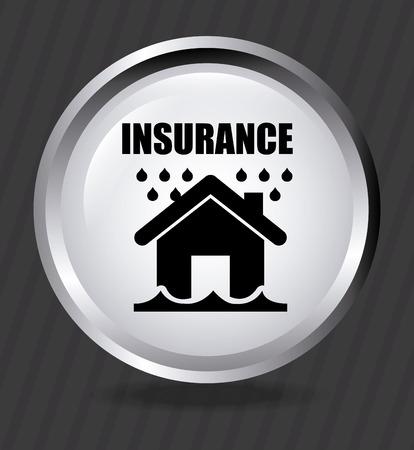 verzekering grafisch ontwerp, vector illustratie