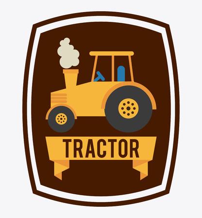 tractor graphic design , vector illustration Vector