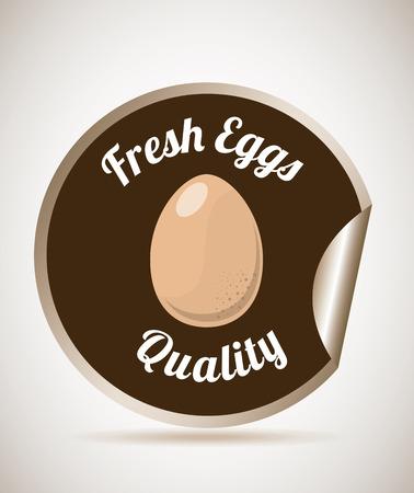 eggs graphic design , vector illustration Vector