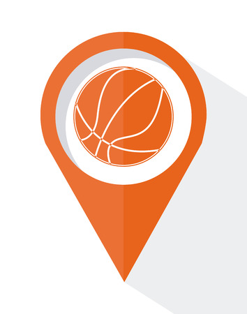 basketball graphic design , vector illustration Vector