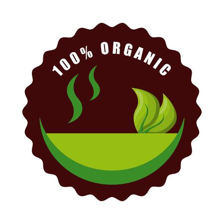 vegan food graphic design , vector illustration Vector