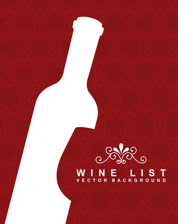 wine graphic design , vector illustration Vector