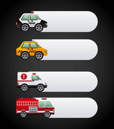 fire truck: cars graphic design , vector illustration
