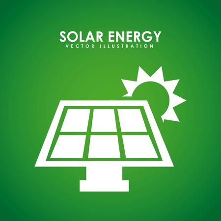 environment icon: eco energy graphic design , vector illustration Illustration