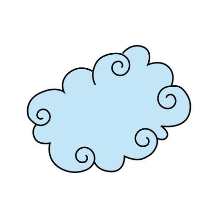 speech buble: cloud graphic design , vector illustration