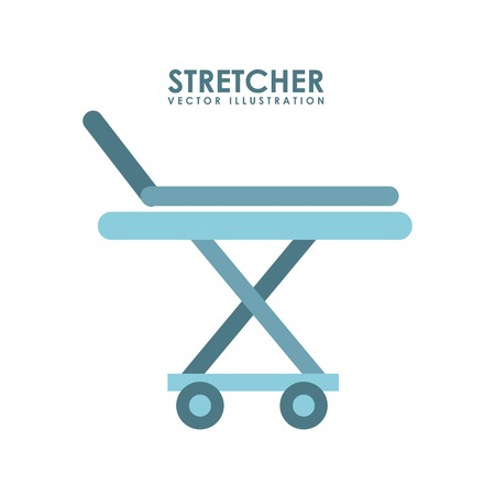 stretcher graphic design , vector illustration Vector