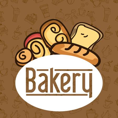 bakery graphic design , vector illustration Illustration