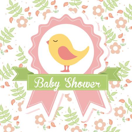 baby shower graphic design , vector illustration Vector