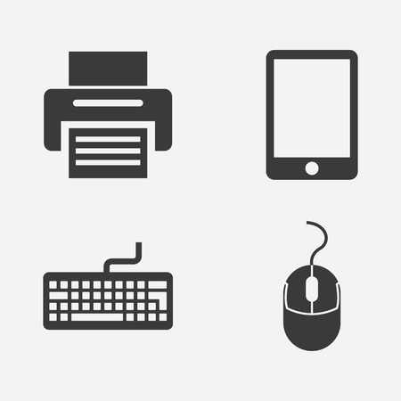 computer keyboard: graphic design , vector illustration