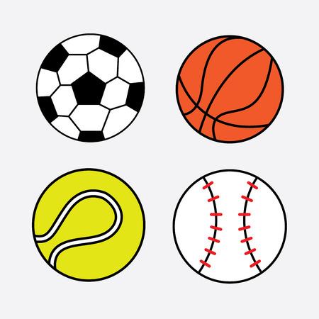 balls graphic design , vector illustration Vector