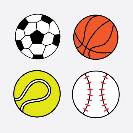 futbol: balls graphic design , vector illustration