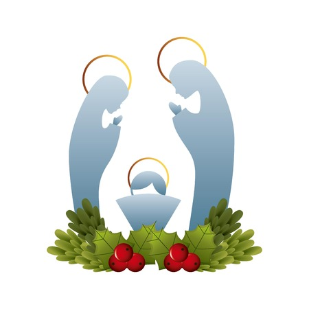 Kerst grafisch ontwerp, vector illustratie