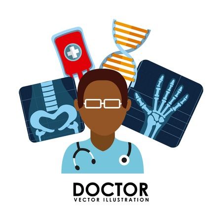 medical graphic design , vector illustration Stock Illustratie