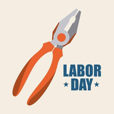 labor day graphic design , vector illustration
