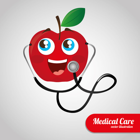 medical graphic design , vector illustration Иллюстрация