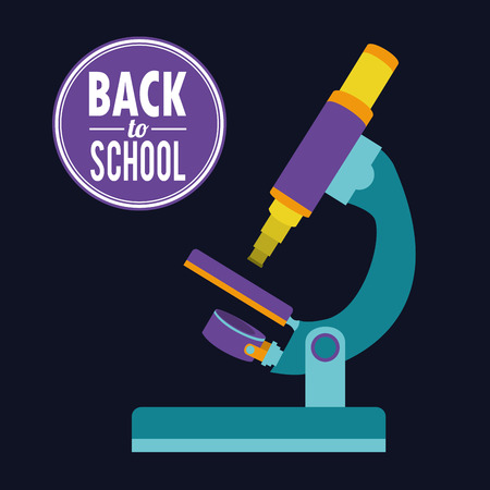 back to school graphic design , vector illustration Vector