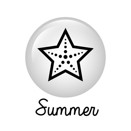 summer graphic design , vector illustration Vector