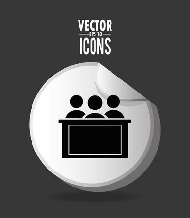 justice graphic design , vector illustration
