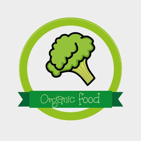 organic food graphic design , vector illustration Vector