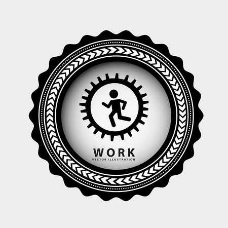 runing: teamwork graphic design , vector illustration