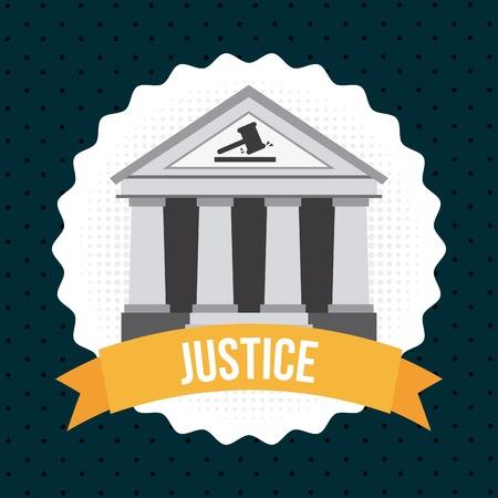 lawsuit: justice graphic design , vector illustration