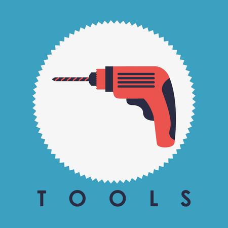 tools graphic design , vector illustration Vector
