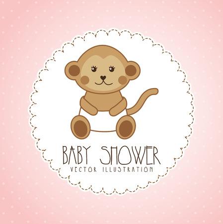 babby: babby shower graphic design , vector illustration