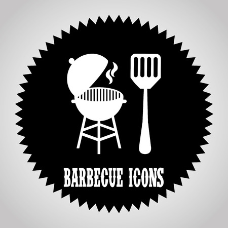 barbecue graphic design , vector illustration Illustration