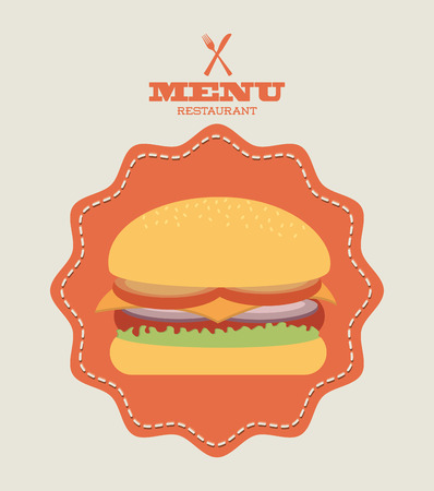 unhealth: fast food graphic design , vector illustration