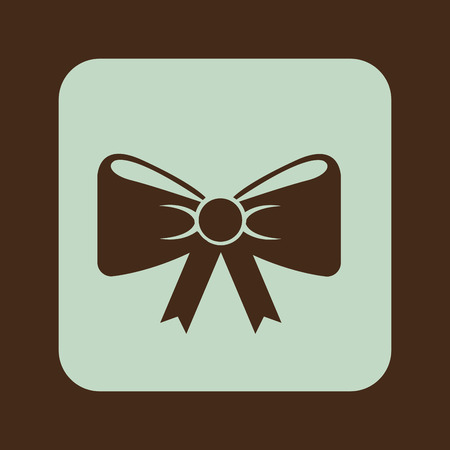 bowtie: bow-tie graphic design , vector illustration