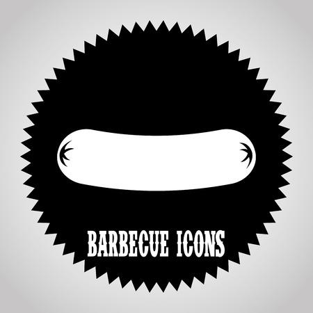 barbecue graphic design , vector illustration Vector