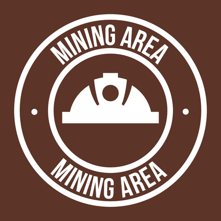 mine site: mining graphic design , vector illustration