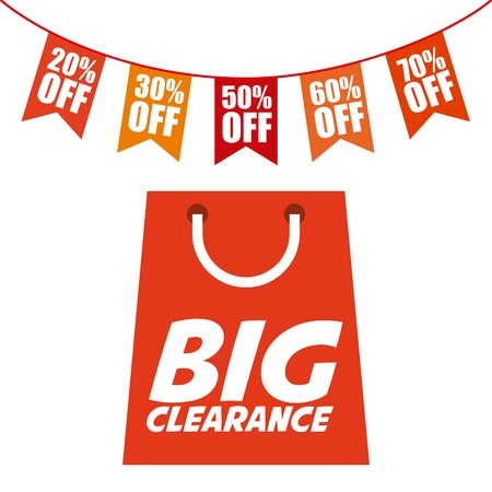 clearance: clearance graphic design , vector illustration Illustration