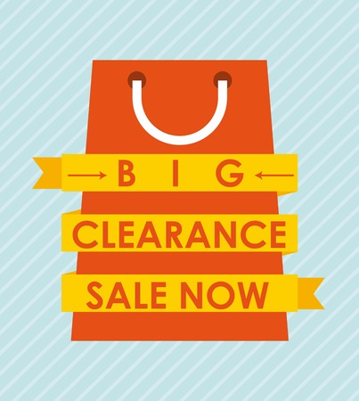 closeout: clearance graphic design , vector illustration Illustration
