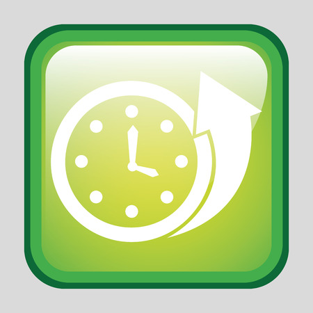 available time: time graphic design , vector illustration Illustration