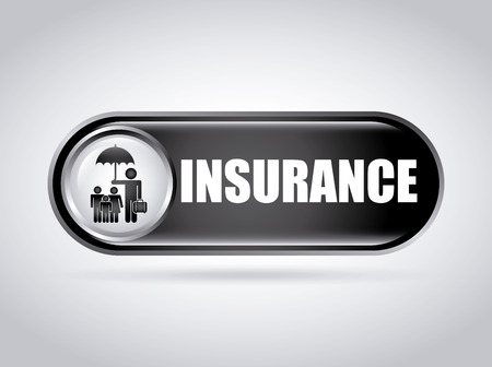 family policy: insurance graphic design , vector illustration