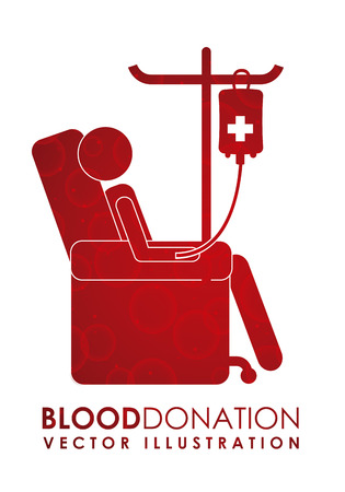 blood transfusion: donate blood graphic design , vector illustration