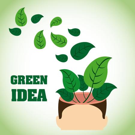 idea graphic design , vector illustration