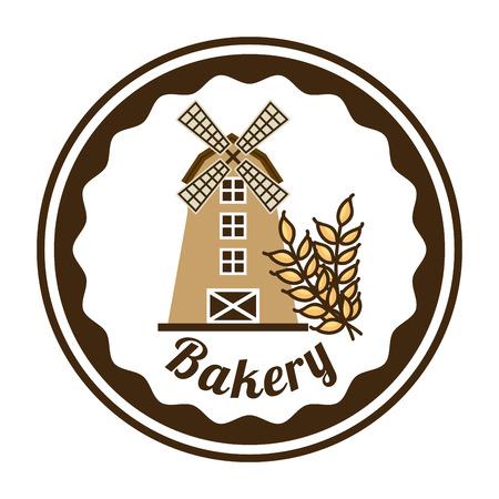 sel: bakery graphic design , vector illustration Illustration
