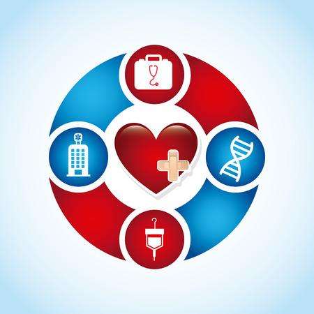 cardiologie grafisch ontwerp, vector illustratie
