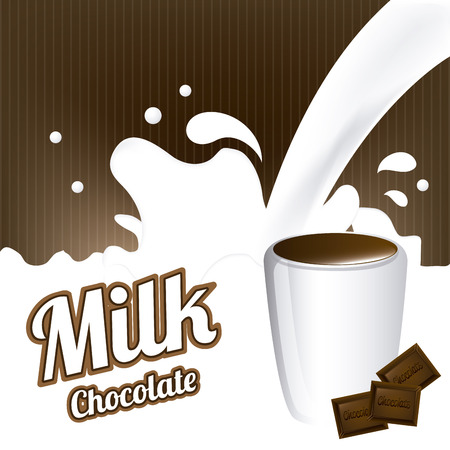 milk graphic design , vector illustration